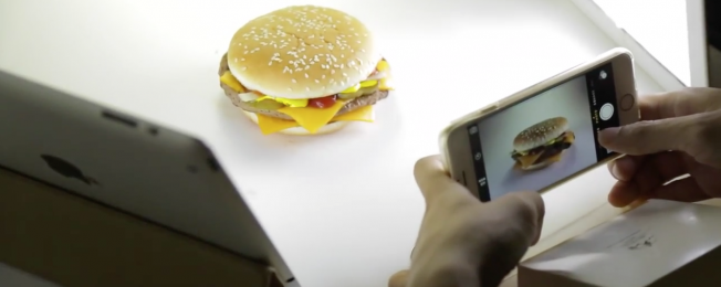 Actual Fast Food and an iPhone?