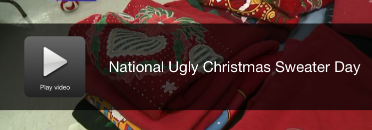 Happy National Ugly Christmas Sweater Day